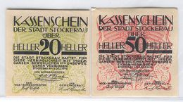 AUSTRIA NOTGELD 1038 Stockerau - Austria