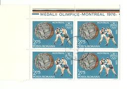 POSTA ROMANA MONTREAL 76 BOXEO - Verano 1976: Montréal