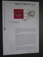 Timbre Premier Jour - 2007 - Saint Valentin - Givenchy - Collections (sans Albums)