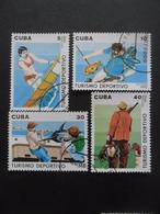 CUBA Série N°3040 Au 3043 Oblitéré - Stamps