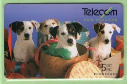 New Zealand - 1994 Telecom Christmas - $5 Spot & Family - NZ-P-35 - Mint - New Zealand