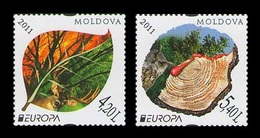 Moldova 2011 Mih. 749/50 Europa-Cept. Forests MNH ** - Moldavia