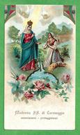 Santini: MADONNA SS. DI CARAVAGGIO  - SANTUARIO - E - PR - Mm. 70 X 125 - CROMOLITOGRAFIA - Religion & Esotericism