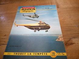 156/AVIATION MAGAZINE N° 117 Westland Sikorsky S 55, Thoret La Tempete - Luftfahrt & Flugwesen
