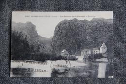 LE MALZIEU VILLE - Les Rochers De ST PIERRE Et La TRUYERE - Autres Communes