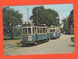 PL/2 LES DEBUTS AUTUMOTRICES TRAMWAYS TRAMWAY DE FRIBOURG SUISSE JUIN 1964 Automotrice Tramway - Tramways