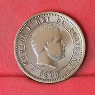 PORTUGAL 5 REIS 1891 -     530 - (Nº22545) - Portugal