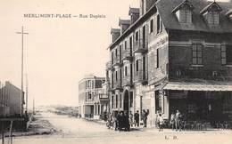 CPA 62 -  MERLIMONT PLAGE, Rue Dupleix - Francia