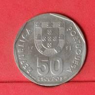 PORTUGAL 50 ESCUDOS 1991 -     636 - (Nº22564) - Portugal