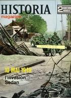 HISTORIA No 8  -  2e GUERRE MONDIALE. - 10  MAI 1940 L'invasion De Sedan - Guerre 1939-45