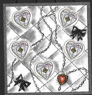 France 2004 Bloc Feuillet N° 66 Neuf Saint Valentin Karl Lagerfeld à La Faciale - Blocs & Feuillets