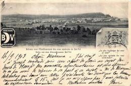 Luxembourg -Belvaux -  Avec L´établissement Des Eaux Minérales De Bel-Val - 1903 - Sonstige
