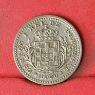 PORTUGAL 50 REIS 1900 -     545 - (Nº22594) - Portugal