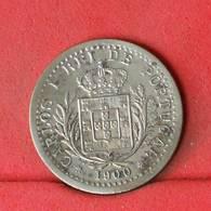 PORTUGAL 100 REIS 1900 -     546 - (Nº22595) - Portugal