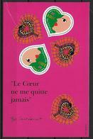 France 2000 Bloc Feuillet N° 27 Neuf Saint Valentin Yves Saint Laurent à La Faciale - Blocs & Feuillets