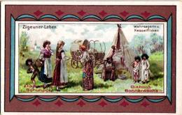 6 Chromo Zigeunerleven Gitan Tzigane Gypsy Pub.Diamantine  Schuputz - Vecchi Documenti