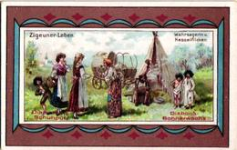 6 Chromo Zigeunerleven Gitan Tzigane Gypsy Pub.Diamantine  Schuputz - Documentos Antiguos