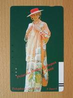 Japon Japan Free Front Bar, Balken Phonecard  / 110-7573 / Lady Diana - Personnages