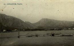 RPPC  MALLORCA .- PUERTO DE POLLENSA .- POSTAL FOTOGRAFICA FOTO MASCARO - Mallorca