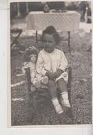 Fotocartolina  Originale Bambina Con Bambola Doll   G/t - Otros