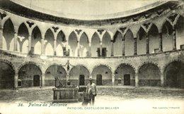 PALMA DE MALLORCA PATIO DEL CASTILLO DE BELLVER - Mallorca