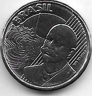 *brazil 50 Centavos 2008  Km 651a   Unc - Brasil