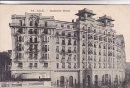 NICE. MAJESTIC HOTEL. EDIT GILETTA. FRANCE.-BLEUP - Cafés, Hoteles, Restaurantes