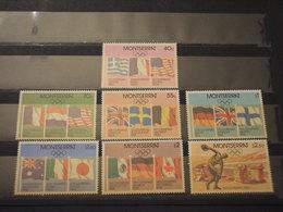 MONTSERRAT -  1980 GIOCHI MOSCA 7 VALORI - NUOVI(++) - Montserrat