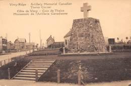 62 - Côte De VIMY - Coin De Thelus - Monument De L'Artillerie Canadienne - Lievin