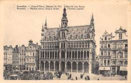 BRUXELLES - Grand'Place, Maison Du Roi, Marché Aux Fleurs - Markten
