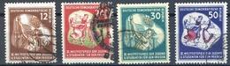 LOTE 1724  ///   (C095)  ALEMANIA DDR  MICHEL Nº: 289/292   ¡¡¡ LIQUIDATION !!!! - [6] República Democrática
