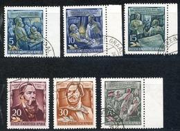 LOTE 1724  ///   (C110)  ALEMANIA DDR  MICHEL Nº: 485/490   ¡¡¡ LIQUIDATION !!!! - [6] República Democrática