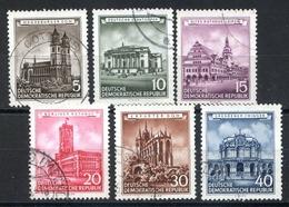 LOTE 1724  ///   (C100)  ALEMANIA DDR  MICHEL Nº: 491/496   ¡¡¡ LIQUIDATION !!!! - [6] República Democrática