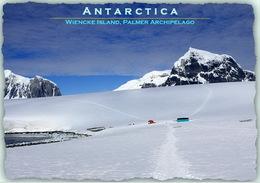 Lot 3 Postcards - British Antarctic Territory Wiencke Island Palmer Islands Port Lockroy Damoy Hut - Postales