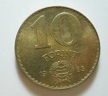 Hungary 10 Forint 1983 - Hongrie