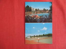 New York > Multi View  Pool & Tennis Courts Hotel Brickman So. Fallsburg   Ref 2957 - NY - New York