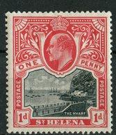 Saint Helena 1903 1p The Warf Issue #51  MNH - Saint Helena Island