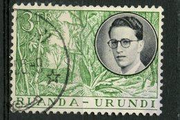 Ruanda-Urundi 1955 3fr King Baudouin Issue #134 - Ruanda-Urundi