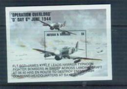 BOX-22 Antigua And Barbuda 1995 World War II Review Of Normandy Landing MNH - History
