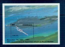 BOX-26 Dominik 1991 World War II Review Attack Pearl Harbor MNH - History