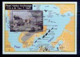 BOX-21 Saint Vincent And The Grenadines 1991 World War II Review Of The Surprise Attack On Pearl Harbor MNH - History