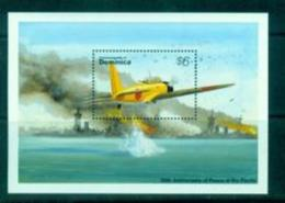 BOX-02 Dominica 1994 WWII Pacific War Attack Pearl Harbor 50 Year Sheetlet MNH - History