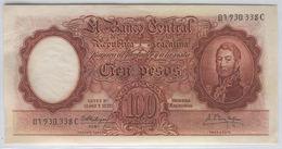 ARGENTINA 272c 1957-67 100 Pesos - Argentine