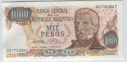 ARGENTINA 273a 1955-75 1000 Pesos - Argentina