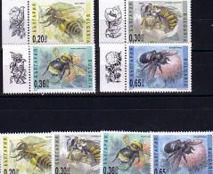 2003   BEES - HONEY   2 (set + Set  + Vignette) -MNH  BULGARIA / Bulgarie - Bulgarie