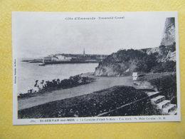 SAINT MALO. Saint Servan. La Corniche D'Aleth Et Vue Sur Saint Malo. - Saint Servan