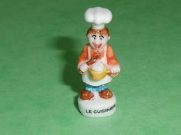 Fèves / Personnages / Métiers : Le Cuisinier   TB113V - Characters