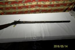 FUSIL DE CHASSE A SILEX MERITE D'ETRE REFAIT - Decorative Weapons