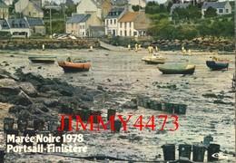 """CPM - Marée Noire 1978 - PORTSALL ( Commune De Ploudalmèzeau )29 Finistère - Photo Erwan Quemere - Edit. COMBIER """" CIM """" - Disasters"""