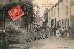 CPA  Les Essarts La Rue De La Boucherie - Les Essarts